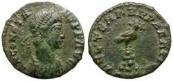 Ancient Coins - Constans as Augustus Æ 1/2 Centenionalis / Phoenix