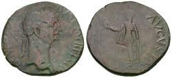 Ancient Coins - Claudius (AD 41-54) Æ Sestertius / Spes