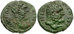Ancient Coins - Septimius Severus (AD 193-211). Moesia Inferior. Nicopolis ad Istrum Æ16 / Herakles