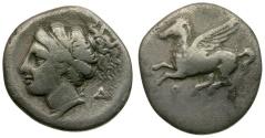 Ancient Coins - Corinthia. Corinth AR Drachm / Δ Series