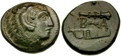 Ancient Coins - Kings of Macedon. Alexander III the Great (336-323 BC) Æ18