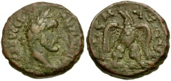 Ancient Coins - Antoninus Pius. Egypt. Alexandria BI Tetradrachm / Eagle