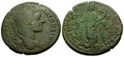 Ancient Coins - Elagabalus, Moesia Inferior, Nicopolis ad Istrum Novius Rufus legate Æ26 / Tyche