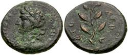 Ancient Coins - Seleucis and Pieria. Antiochia ad Orontem. Civic Issue Æ Dichalkon / Apollo