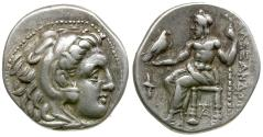 Ancient Coins - Kings of Macedon. Alexander III the Great (336-323 BC) AR Drachm