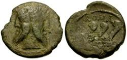 Ancient Coins - 90 BC - Roman Republic Æ AS / Rare Muled Hybrid of Q. Titius and C. Vibius C.f. Pansa