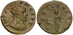 Ancient Coins - Claudius II Gothicus (AD 268-270) Æ Antoninianus / Uberitas
