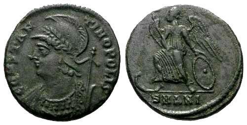 Ancient Coins - EF/VF Constantinople Commemoritive / Constantinopolis