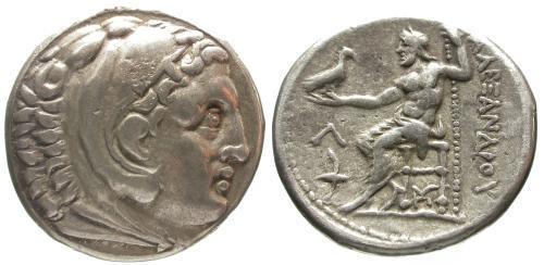 Ancient Coins - VF/VF Alexander the Great AR Tetradrachm Amphipolis mint