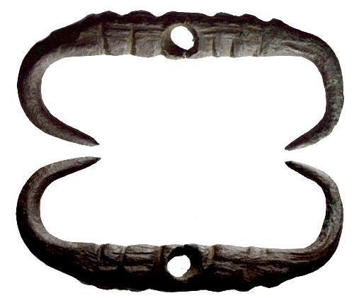 Ancient Coins - Rare Grave Shroud Fastener Merovingian to Saxon period