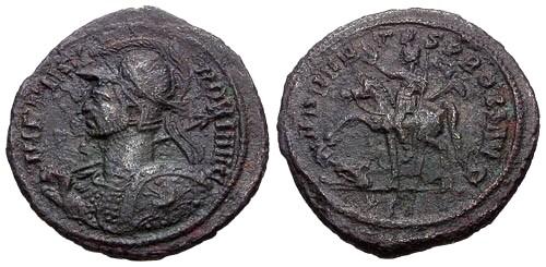Ancient Coins - aVF/aVF Probus AE Antoninianus / Probus on Horseback