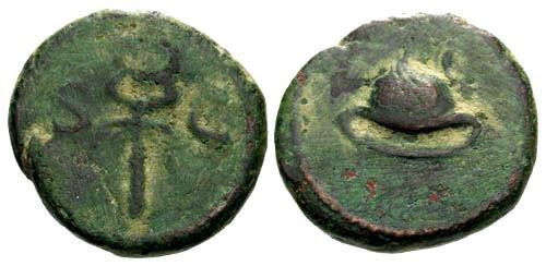 Ancient Coins - VF/aVFAnonymous Quadrante / Petausus & Caduseus S C