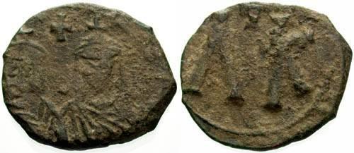Ancient Coins - F/F Leo V The Armenian Class 4a Follis