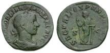 Ancient Coins - Gordian III Æ Sestertius / Securitas