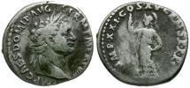 Ancient Coins - Domitian AR Denarius / Minerva