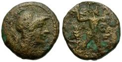Ancient Coins - Attica. Athens Æ20 / Zeus