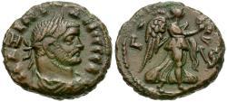 Ancient Coins - Maximian (AD 286-305). Egypt. Alexandria Billon Tetradrachm / Nike