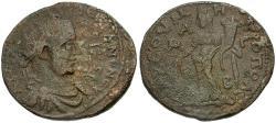 Ancient Coins - Valerian I. Cilicia. Tarsos Æ32 / Tyche