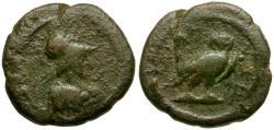 Ancient Coins - Attica. Athens Æ12 / Athena and Owl