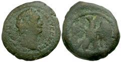 Ancient Coins - Domitian. Egypt Alexandria Æ Obol / Eagle