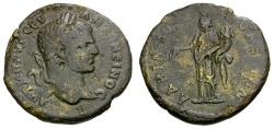 Ancient Coins - Caracalla.  Thrace. Hadrianopolis Æ26 / Concordia