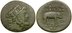 Ancient Coins - Seleucia and Pieria. Apameia Æ23 / Elephant