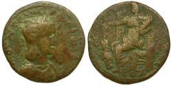 Ancient Coins - Otacilia Severa (AD 244-249). Seleucis and Pieria. Damascus Æ33