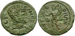 Ancient Coins - Pisidia. Termessos Major. Pseudo-Autonomous Issue Æ28 / Genius