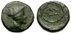 Ancient Coins - VF/VF Thrace, Lysimachia Æ10 / Hermes