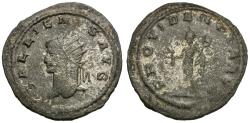 Ancient Coins - Gallienus, sole reign (AD 260-268) AR Antoninianus / Mercury