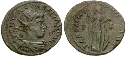 Ancient Coins - Valerian I. Cilicia. Tarsos Æ32 / Athena