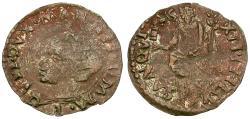 World Coins - Italian States. Mantua. Guglielmo Gonzaga (1550-1575) Æ Quattrino