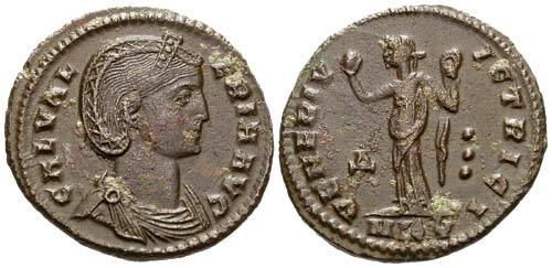Ancient Coins - VF/VF Galeria Valeria Follis / Venus