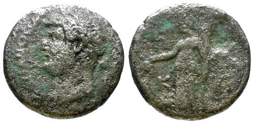 Ancient Coins - F/F Hadrian Billon Tetradrachm Alexandria Egypt