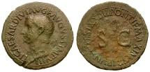 Ancient Coins - Tiberius Æ AS / SC