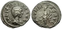 Ancient Coins - Julia Maesa AR Denarius / Fecunditas