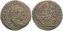 Ancient Coins - Caracalla (AD 198-217). Seleucis and Pieria. Gabala Æ28 / Tyche