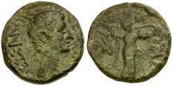 Ancient Coins - Augustus. Thessaly. Koinon Æ Assarion / Athena