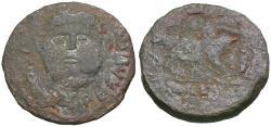 Ancient Coins - Augustus (27 BC-AD 14). Spain. Emerita Æ AS / Silenos