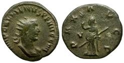 Ancient Coins - Gallienus AR Antoninianus / Pax