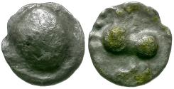 Ancient Coins - Celtic Tribes. Alps and Eastern Europe. Noricum AR Obol / Horse
