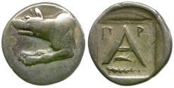 Ancient Coins - Argolis. Argos AR Triobol