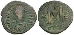 Ancient Coins - *Sear 19* Byzantine Empire. Anastasius (AD 491-518) Æ 35mm Follis