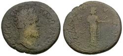Ancient Coins - Septimius Severus. Thrace. Kallatis Æ26 / Hygeia Feeding Snake