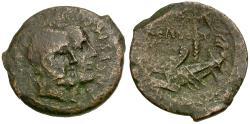 Ancient Coins - 88 BC - Roman Republic. C Censorinus Æ AS / Two Ships