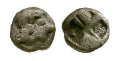 Ancient Coins - VF/VF Ionia, Kolophon AR Hemiobol / Apollo