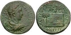 Ancient Coins - Severus Alexander (AD 222–235). Pontus. Amasia Æ34 / Eagle in Tree