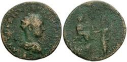 Ancient Coins - Gordian III and Abgar X. Mesopotamia. Edessa Æ32