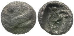 Ancient Coins - Caria. Halikarnassos AR Obol