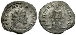 Ancient Coins - Gallienus AR Antoninianus / German Victory